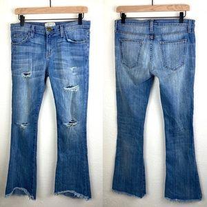 Current/Elliot Flip Flop Distressed Jeans 26